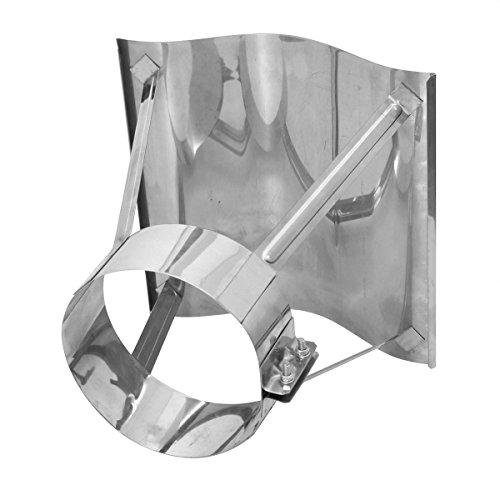 800mm x 1200mm Schornsteinabdeckung Kaminabdeckung Kaminhaube Regenhaube aus Edelstahl