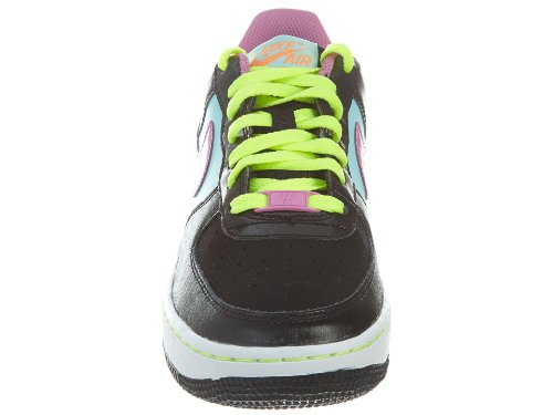 Nike Air Force 1 '06 (gs), Chaussons Sneaker Fille Black Multi