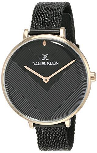 Daniel Klein Analog Black Dial Women's Watch-DK12049-5