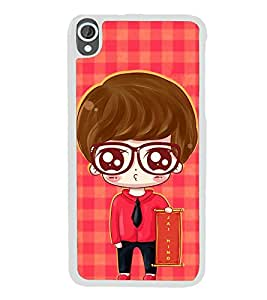 ifasho Crazy Boy Back Case Cover for HTC Desire 820