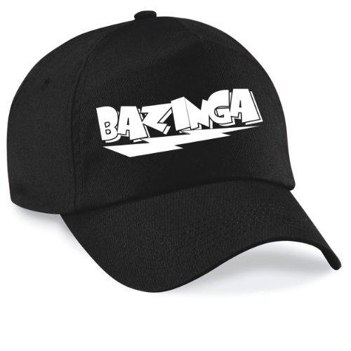 Basecap Bazinga Movie Style Cap Capy Größe Unisex, Farbe schwarz (Twill Stein Original)