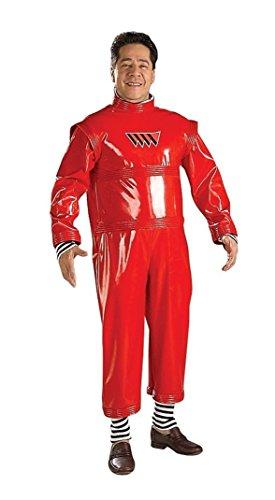 Oompa Loompa Herrenkostüm, (Erwachsene Halloween Oompa Kostüme Für Loompa)