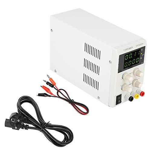 Netzteil, STP3005DH Variabel geregeltes Gleichstromnetzteil 0-30V 0-5A 110V/220V Schaltbare Prüfgeräte für Elektriker Gleichstromnetzteil(EU-Stecker 220V)