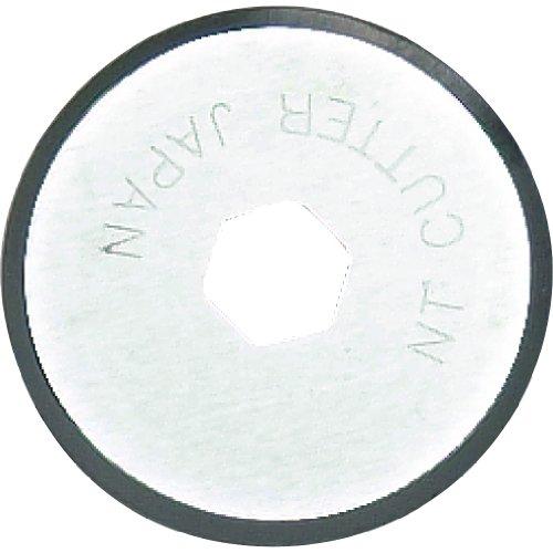 NT Cutter 18mm Rotary Klingen für Stoff Circle Cutter, 2-Blatt/Pack, 1Pack (br-18p) (Mm Rotary 18 Cutter)