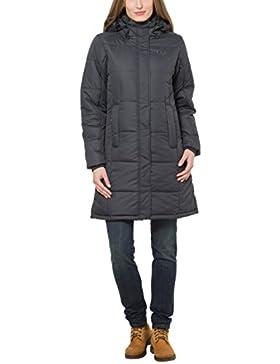 Ultrasport Smilla - Abrigo deportivo de invierno para mujer, color negro, talla XL