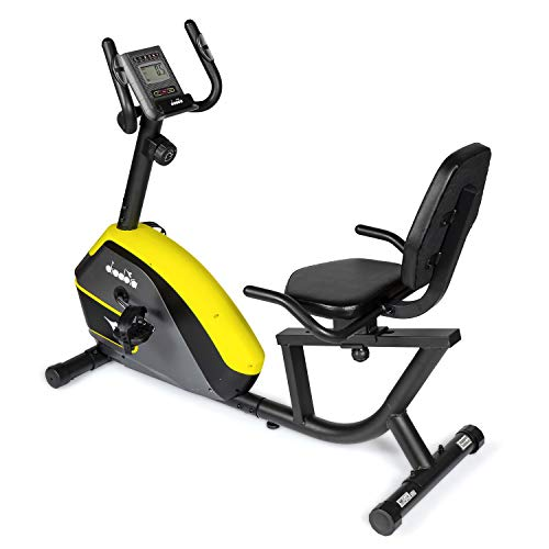Diadora Cyclette Recumbent Galaxy Comfort con Supporto Tablet
