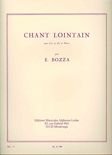 Eugne Bozza: Chant Lointain