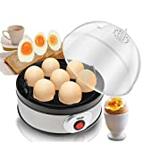 DSP Hervidores para huevos, vaporera Caldera de huevos, vapor de huevos, para huevo duro 7 Capacidad de huevo