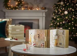 Yankee Candle Holiday Sparkle-Adventskalender zum Aufklappen