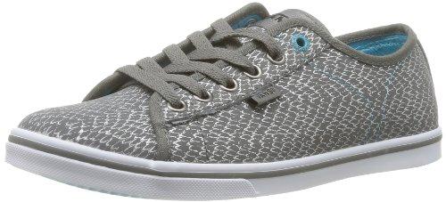 Vans  W Ferris Lo Pro,  Sneaker Donna Grigio (Black/Blue)
