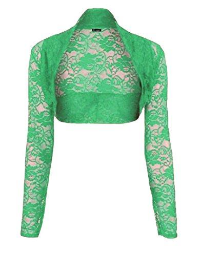 Elum ® - Boléro - Femme Vert jade