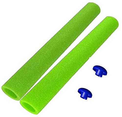 awshop24 16x Trampolin Schaumstoff hellgrün 92 cm für 8 Stangen