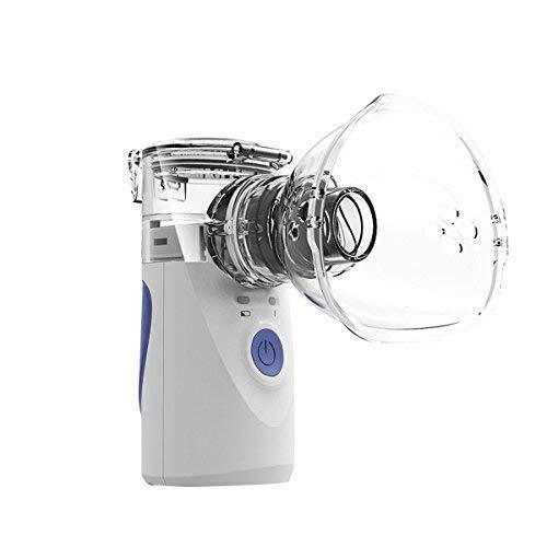 Aozzy portatile inalatore nebulizzatore per aerosol ultrasuoni silenzioso, leggero,senza fili per allergie e malattie respiratorie