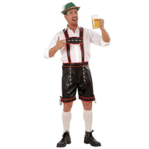 Widmann - lederhosen costume da bavarese/altoatesino, in taglia l