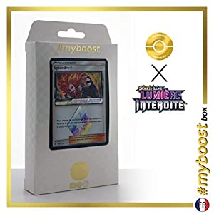 Lysandre (Lisson) 110/131 Holo Prisma - #myboost X Soleil & Lune 6 Lumière Interdite - Box de 10 Cartas Pokémon Francés