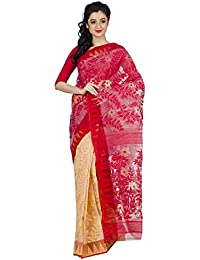 Tjsarees Silk Saree (TJ500069_Red_Free Size)