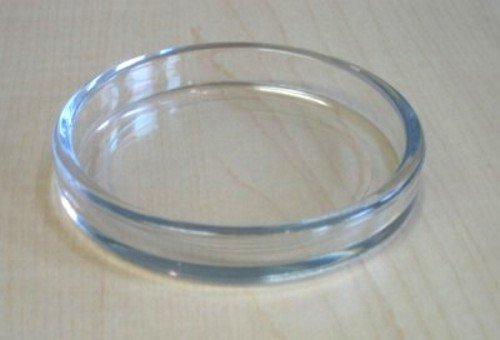 Untersetzer für Klavier Flügel Möbel aus Kunststoff transparent 70 mm Ø