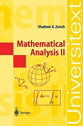 Mathematical Analysis II: v. 2 (Universitext) by Vladimir A. Zorich (2003-11-20)