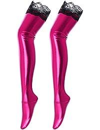 f0e077abad3414 Suchergebnis auf Amazon.de für: overknee gelb - Pink: Bekleidung