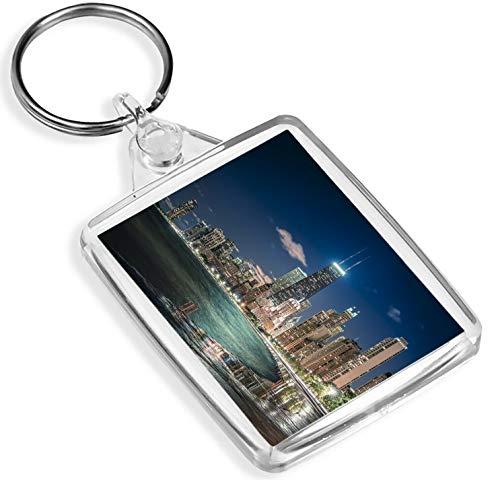 Ziel Vinyl Keyrings Chicago City Schlüsselanhänger Illinois Sears Tower Wolkenkratzer USA Amerika-Geschenk # 12389
