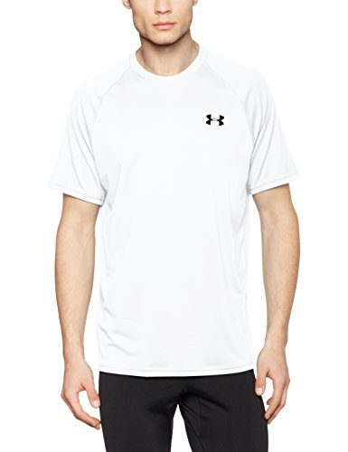 Under Armour Ua Tech Ss Tee Herren Fitness - T-Shirts & Tanks, Weiss (White), M