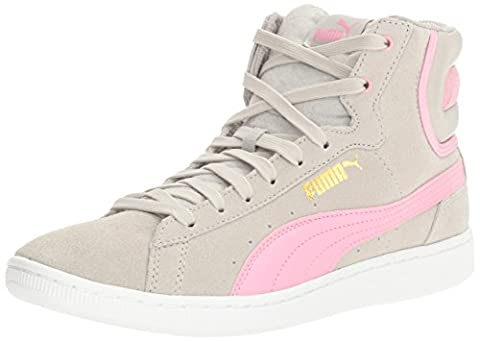 PUMA Womens Vikky Mid Fashion Sneaker, Gray Violet-Prism Pink, 5