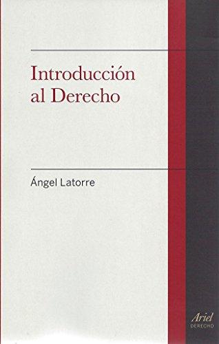 Introducción al Derecho (Ariel Derecho)