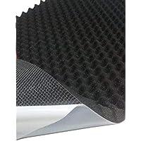 Mousse acoustique, mousse alvéolée, isolation (100cm x 50cm x h) Blanc ou noir
