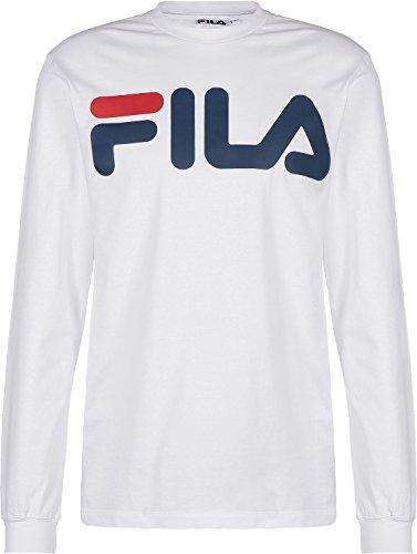 fila-basic-classic-logo-t-shirt-manches-longues-bright-white
