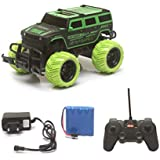 The Flyer's Bay Big And Mean Rock Crawling 1:20 Scale Modified Hummer RC Car/Monster Truck (Green)