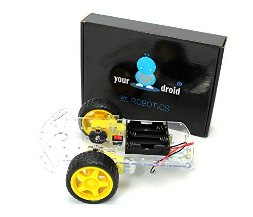 yourDroid 2WD Smart Car Chassis für Arduino DIY Roboter