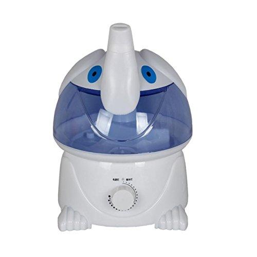 WW Humidificador Doméstico Aromaterapia Interior Purificador de Aire Ultrasonido Mute Humidificador,Elefante