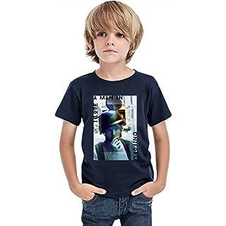 I Love A Man In Uniform Mickey Boys T-shirt 12+ yrs