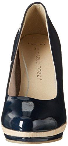 Marco Tozzi 22433, Escarpins Femme Bleu (Navy 805)