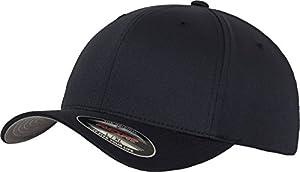 Flexfit 6277 Wooly Unisex Combed Cap, dark navy, S/M