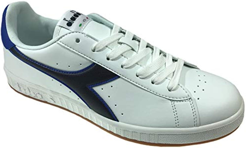 Diadora scarpe da ginnastica ginnastica ginnastica Game P Bianco Blu Profondo Blu LUNARE 160281-C3281 (42,5 - Bianco) | On-line  | Uomini/Donna Scarpa  cc825a