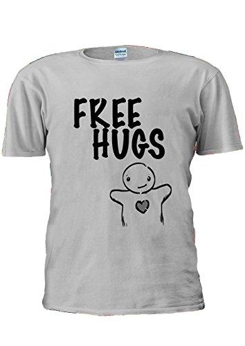 free-hugs-just-ask-heart-unisex-t-shirt-top-men-women-ladies-s