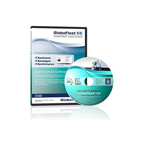 GloboFleet Card Control Software zum auslesen und archivieren der Fahrerkarte