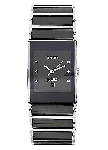 Rado Herren-Armbanduhr Integral Jubile mit Diamanten Datum Analog Quarz R20784752