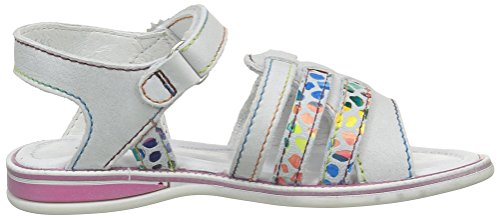 GBB Maryssa, Sandales fille Multicolore (18 Vtc Gris Clair/Mosaic Dpf/Lola)