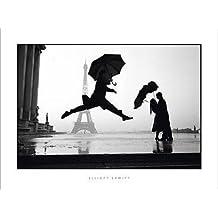 Póster 60x 80cm France, Paris, 1989, Torre Eiffel 100th aniversario/Francia, París, 1989, Torre Eiffel 100th aniversario/Francia, París, 1989, eiffelturms 100Elliott Erwitt