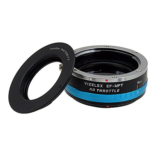Vizelex ND Throttle Lens Mount Adapter from Fotodiox Pro - M42 Screw Mount (M42x1mm, Universal Thread Mount) Lens to Micro-4/3 Mount Cameras (such as OM-D E-M10, Lumix GH4, and BMPCC) - with Built-In Variable ND Filter (ND2-ND1000) M42 Screw Mount