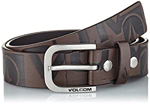 Volcom loco belt ceinture pour homme S/M Marron - marron