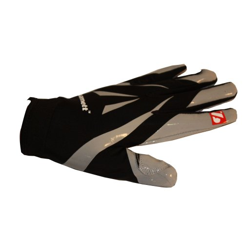FRG-03 Professional Receiver Football Gloves, RE, DB, RB, Black, barnett Test