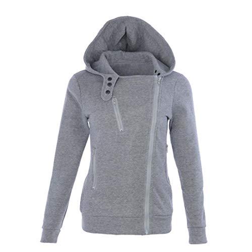 AAKOPE& 2019 Autumn Winter Jacket Women Coat Casual Girls Basic Jackets Zipper Sleeveless Jacket Female Coats Plus Size Gray Asian Size XXL