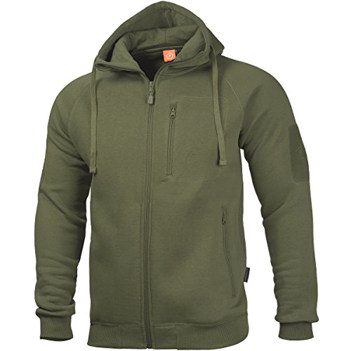 pentagon-hommes-leonidas-20-pull-olive-vert-taille-m
