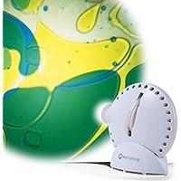 Mathmos Space Projektor mit Lavalampen-Effektrad, Weiß blau / gelb preisvergleich bei billige-tabletten.eu