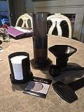Aerobie Aeropresse Cafetière avec Ultra Fine Acier Inoxydable Réutilisable filtre à café