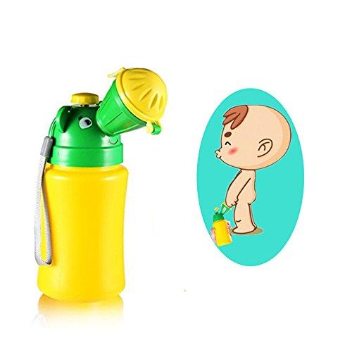 Yumsum, vasino portatile per neonati, con chiusura stagna, per situazioni di emergenza e addestramento all'uso del vasino