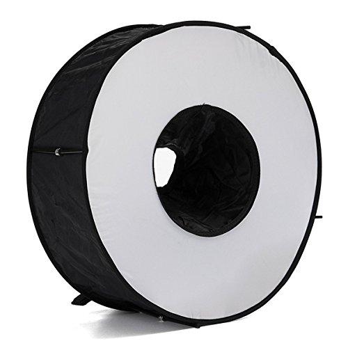 MYAMIA 45Cm Magnetische Easy-Fold Makro Ring Runde Runde Softbox Für Speedlite Taschenlampe
